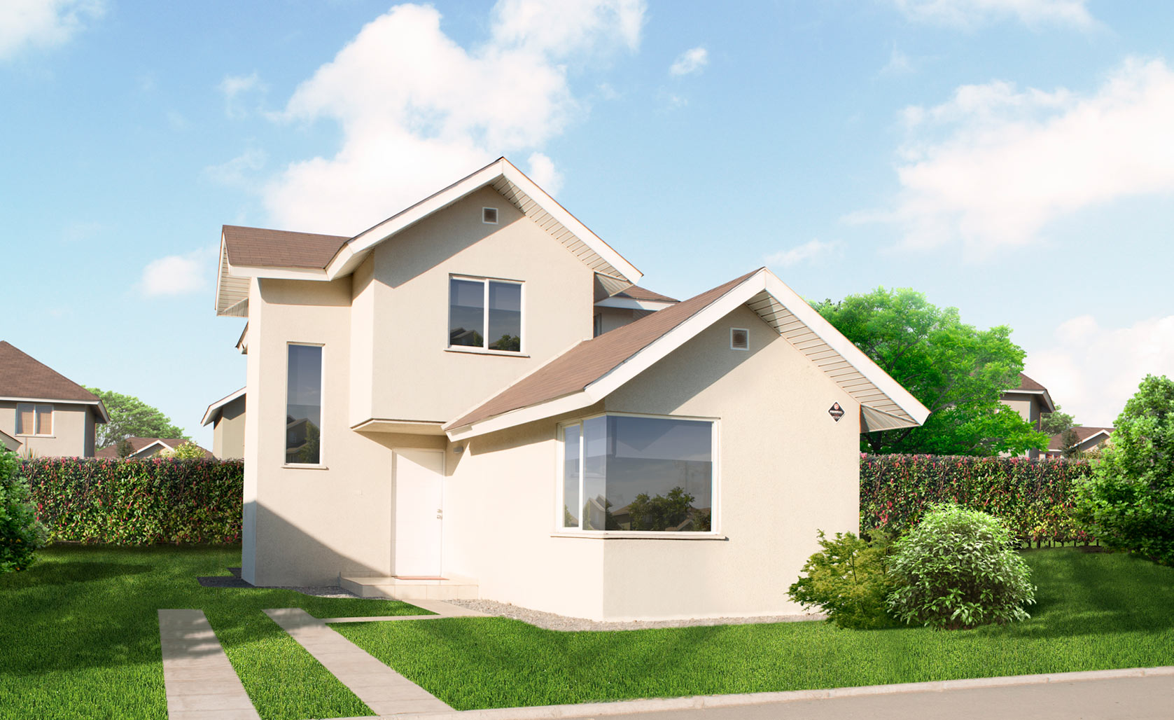 Estancia liray pabell n de la construcci n portal - Proyecto de casas ...