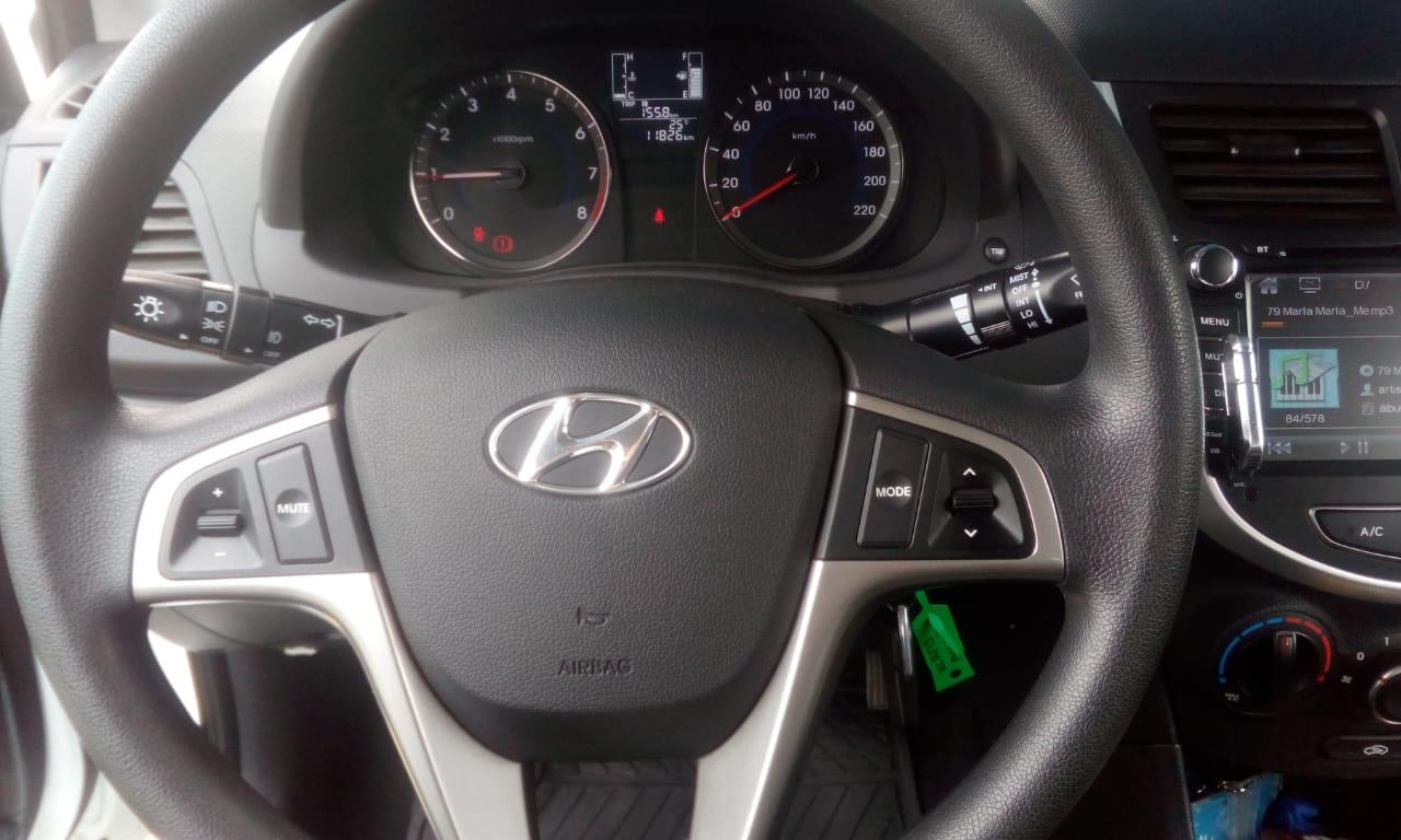 Hyundai Accent  año 2018