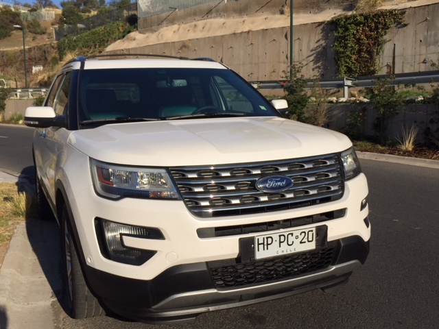 Ford Explorer LIMITED. 3,5. AUTOMATICO, 4WD año 2016