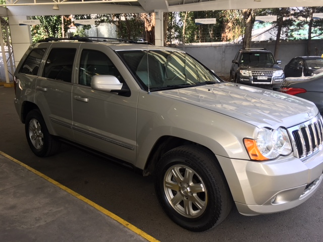 Jeep New Grand Cherokee Automática, full año 2008